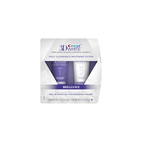 DAILY CLEANSING TOOTHPASTE AND WHITENING SYSTEM (2 TUBOS)