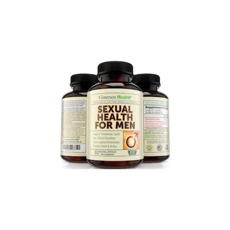 SEXUAL HEALTH FOR MEN (60 CAPSULAS NATURALES)