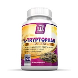 L-TRYPTOPHAN EXTRA STRENGTH (120 CAPSULAS)