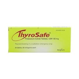 THYROSAFE POTASSIUM IODIDE (20 TABLETAS)