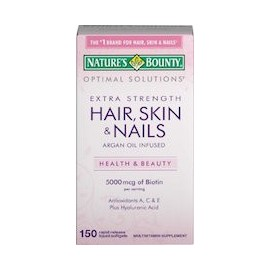 HAIR, SKIN & NAILS EXTRA STRENGTH (150 CAPSULAS DE GEL)