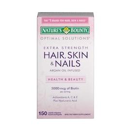 HAIR, SKIN & NAILS EXTRA STRENGTH (150 CAPSULAS DE GEL)