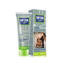 TOP TEN FOR MEN CREMA DE DEPILAR (150ML)