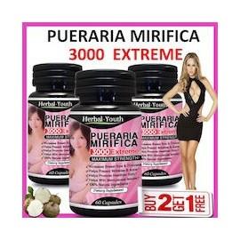 PUERARIA MIRIFICA 3000 EXTREME (60 CAPSULAS)