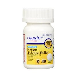 MOTION SICKNESS RELIEF (100 TABLETAS)