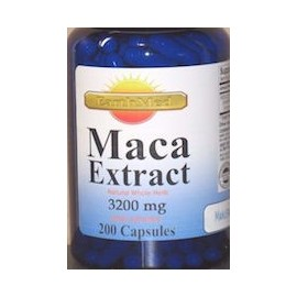 MACA EXTRACT 3200 MG (200 CAPSULAS)
