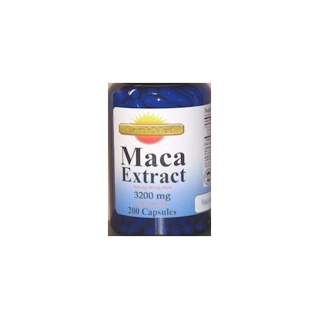 MACA EXTRACT 3200 MG (200 CAPSULAS)