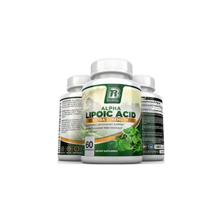 ALPHA LIPOIC ACID EXTRA STRENGTH (60 CAPSULAS)