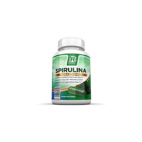 SPIRULINA EXTRA STRENGTH (120 CAPSULAS)