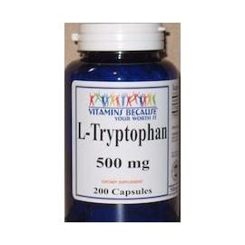 L TRYPTOPHAN 500MG (200 CAPSULAS)