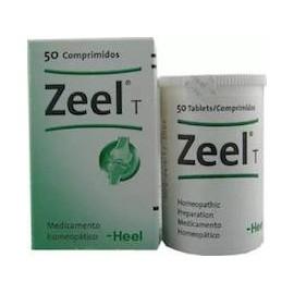 HEEL ZEEL T (50 TABLETAS)