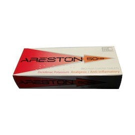ARESTON 50MG DICLOFENACO (30 TABLETAS)