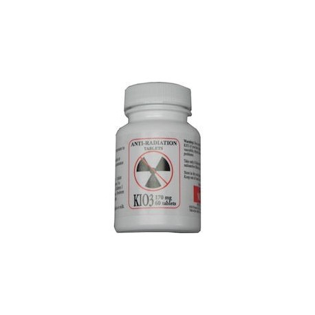 ANTI RADIATION KIO3 170MG