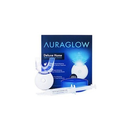 AURAGLOW DELUXE HOME 1 BANDEJA 1 LAMPARA Y 10ML DE GEL