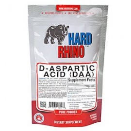 HARD RHINO PURE D ASPARTIC ACID DAA 125G