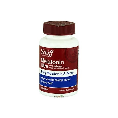 MELATONIN ULTRA 3MG 300CAPS