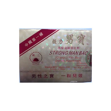 STRONG MAN BAO QUING LINAN BAO 20 CAPS