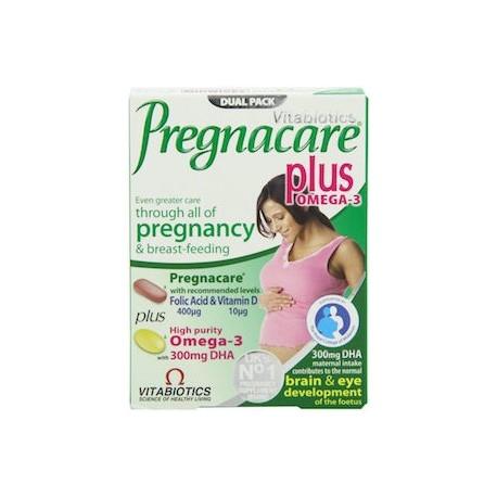 VITABIOTICS PREGNACARE PLUS OMEGA 3 56 CAPS