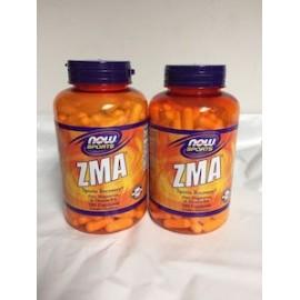 NOW SPORTS ZMA 180 CAPS 2 FRASCOS