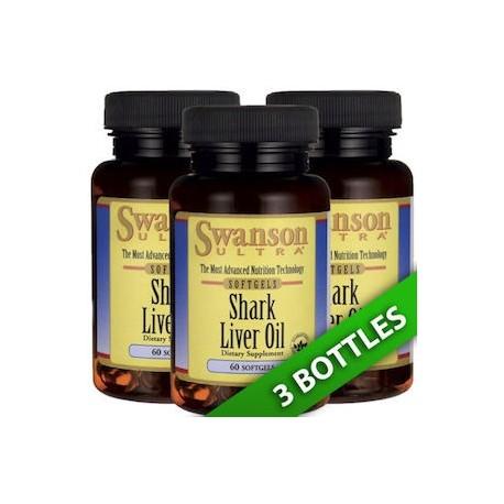 SHARK LIVER OIL 550 MG 180 CAPS