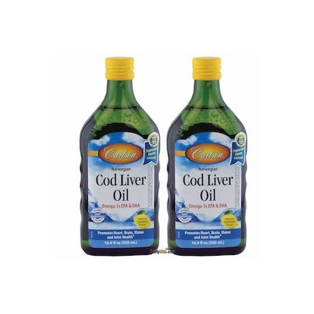 CARLSON NORWEGIAN COD LIVER OIL 1L