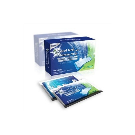 SACHETS EFFECT DENTAL WHITESTRIPS BLANQUEO DENTAL AVANZADO 14 TIRAS