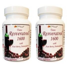 TRANS RESVERATROL 1600 120 CAPS