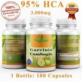 GARCINIA CAMBOGIA 95% PLATINUM 180 CAPS