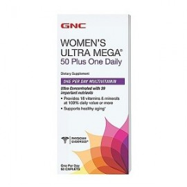 WOMEN'S ULTRA MEGA 50 PLUS ONE DAILY 60 CAPS