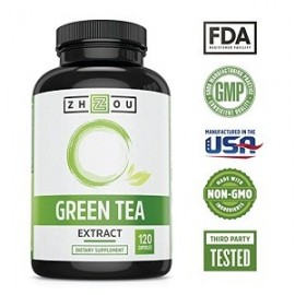 GREEN TEA EXTRACT 120 CAPS QUEMAR GRASA CORPORAL