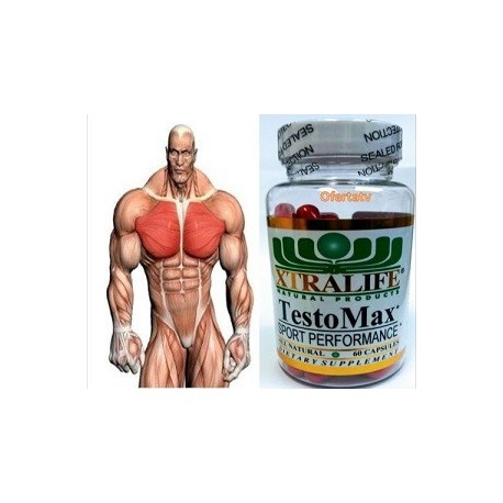 TESTOMAX ANABOLICO POTENTE MUSCULAR 60 CAPS