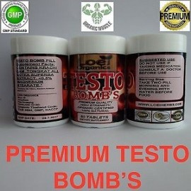TESTO BOMB FUERTE ANABOLICO LEGAL 90 CAPS