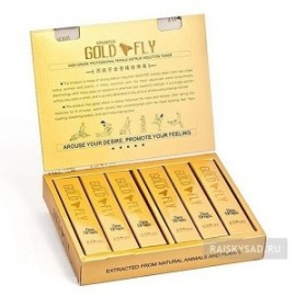 SPANISH GOLD FLY GOTAS SEXUALES PARA MUJER 15 TUBOS 75ML