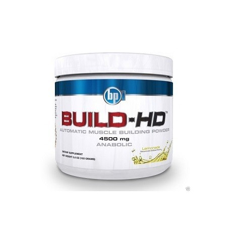 BPI SPORTS BUILD HD 165 GRAMS ANABOLICO MUSCULAR PORTENTE
