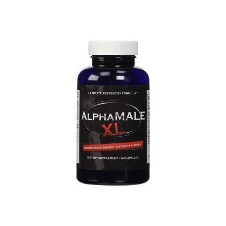 ALPHAMALE XL 60 CAPS MEJORES CAPACIDADES MASCULINAS