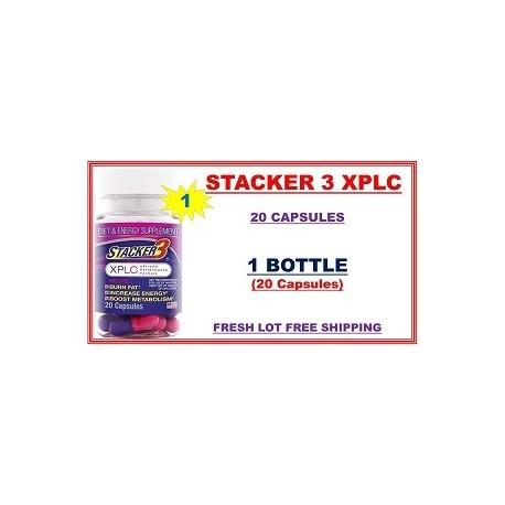 STACKER 3 XPLC 20 CAPS QUEMADOR EPHEDRA 1 FRASCO