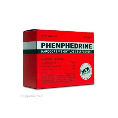 PHENPHEDRINE 60 CAPS ADELGAZAR RAPIDO