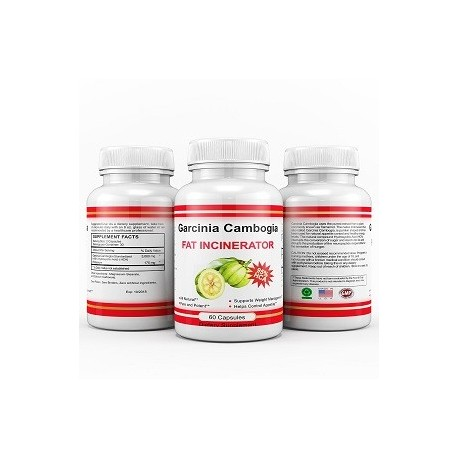 GARCINIA CAMBOGIA FAT INCINERATOR 60 CAPS