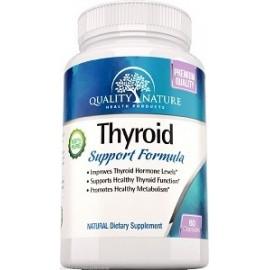 THYROID SUPPORT FÓRMULA QUALITY NATURE 60 CAPS
