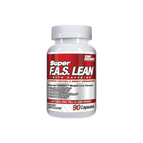 SUPER F.A.S. LEAN 90 CAPS REDUCTOR ADELGAZANTE
