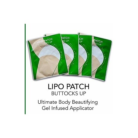 LIPO PATCH BUTTOCKS 4 PARES DE PARCHES ADELGAZANTES