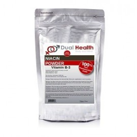 DUAL HEALTH NIACIN POWDER VITAMIN B-3 8Z