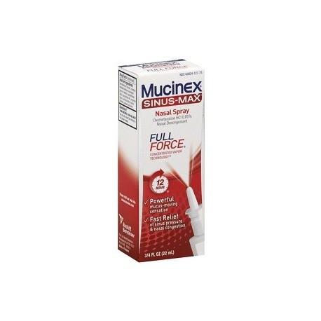 MUCINEX SINUS MAX 22ML DESCONGESTIONAR LA NARIZ