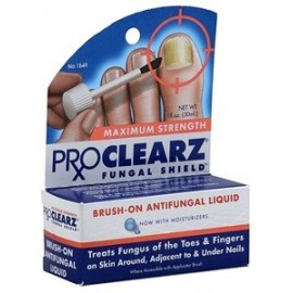 PRO CLEARZ FUNGAL SHIELD PROCLEARZ 30ML QUITAR HONGOS DE PIES Y UÑAS