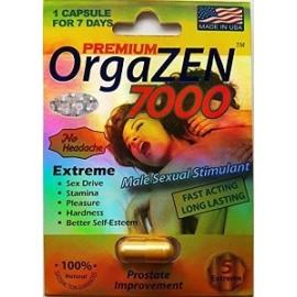 ORGAZEN PREMIUM 7000 3 CAPS