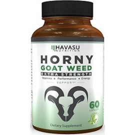 HORNY GOAT WEED EXTRA STRENGTH 60 CAPS