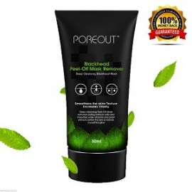 POREOUT BLACKHEAD PEEL OFF REMOVER MASK QUITAR ESPINILLAS 50ML
