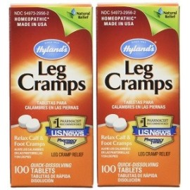 HYLANDS LEG CRAMPS 100 CAPS 2 FRASCOS