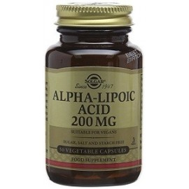ALPHA LIPOIC ACID 50 CAPS SOLGAR PROTECTOR ANTIOXIDANTE