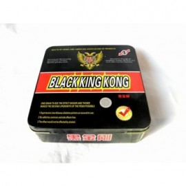 BLACK KING KONG 96 CAPS POTENCIADOR SEXUAL PARA HOMBRE